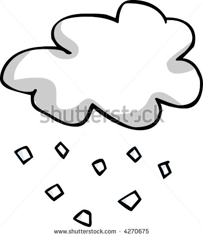 Hail Cloud Stock Photo 4270675   Shutterstock