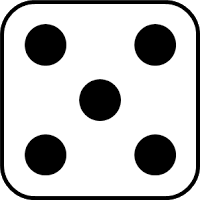 single dice images