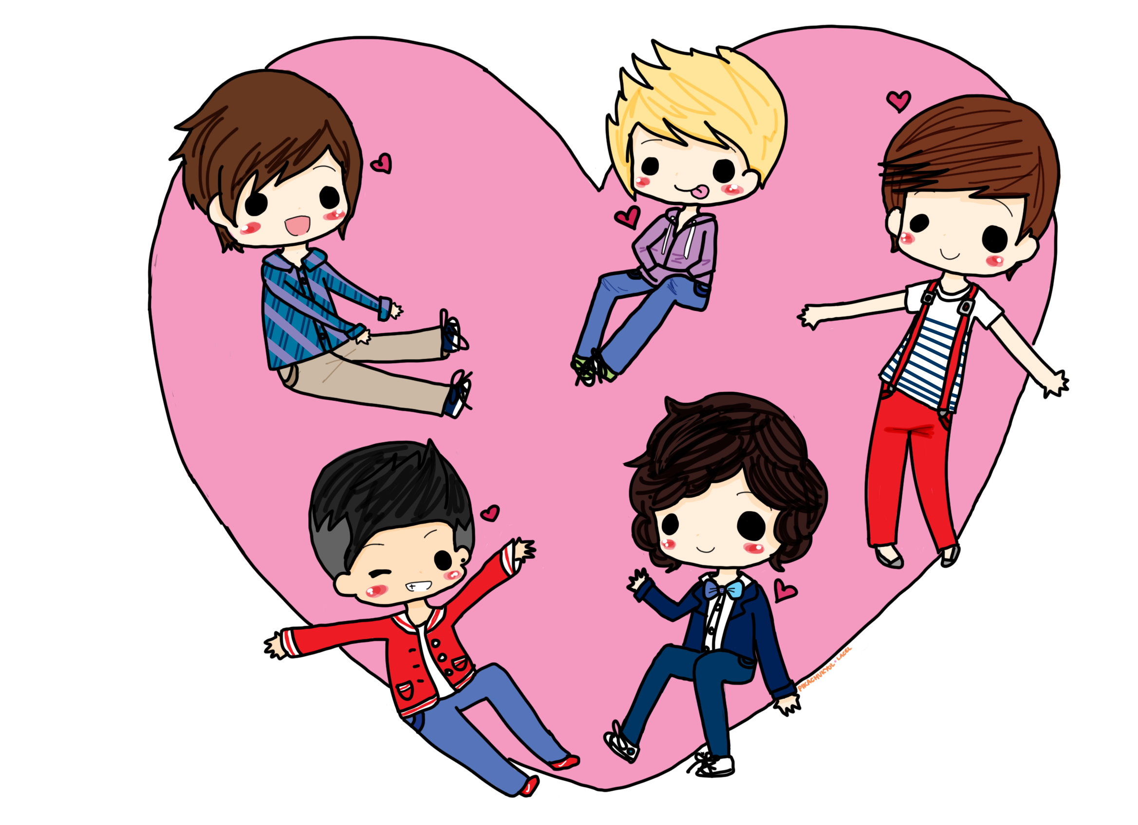 One Direction  Equals   Heart  By Pikachukyol On Deviantart