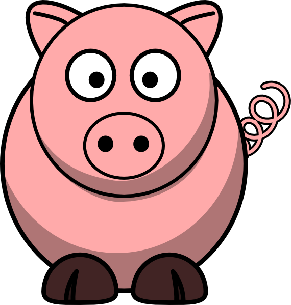 Pigs Cartoon Pig Clipart - Clipart Kid