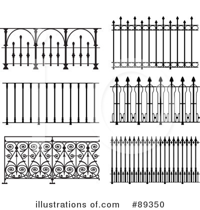Royalty Free  Rf  Wrought Iron Clipart Illustration By Frisko   Stock