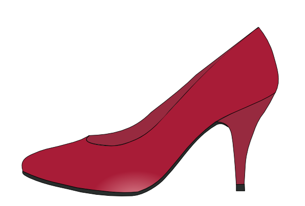 Ruby Red Slippers Clip Art At Clker Com   Vector Clip Art Online