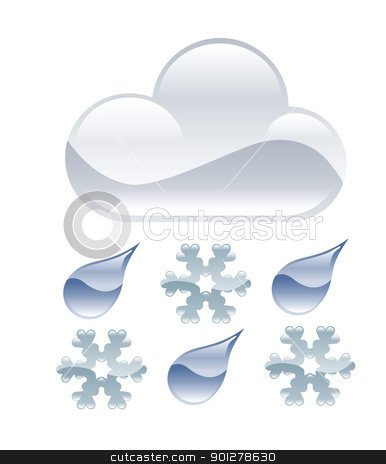 Sleet Clipart Sleet Illustration Stock