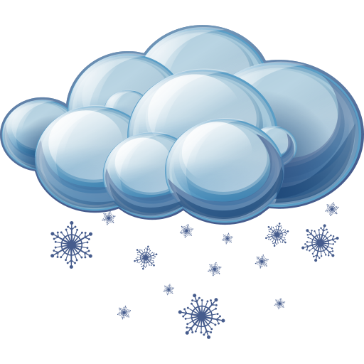 Sleet Icon   Large Weather Iconset   Aha Soft Team