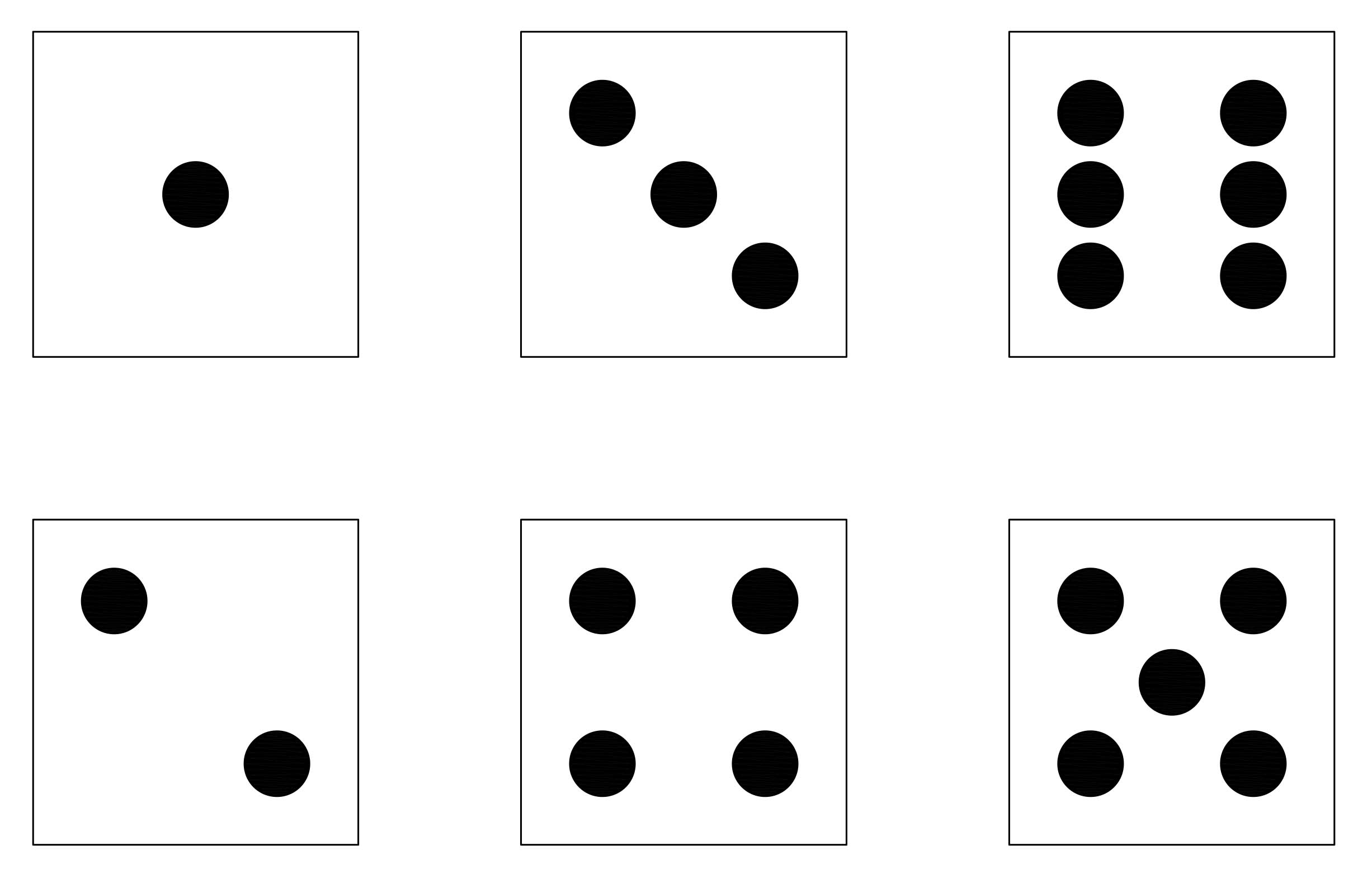 20 dice black and white template edits