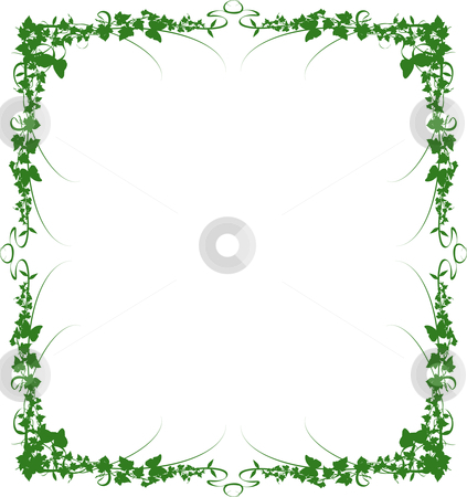 Vine Frame Border Label Stock Vector Clipart Generic Label Suits Many