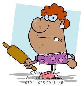Angry Mom Clipart - Clipart Kid