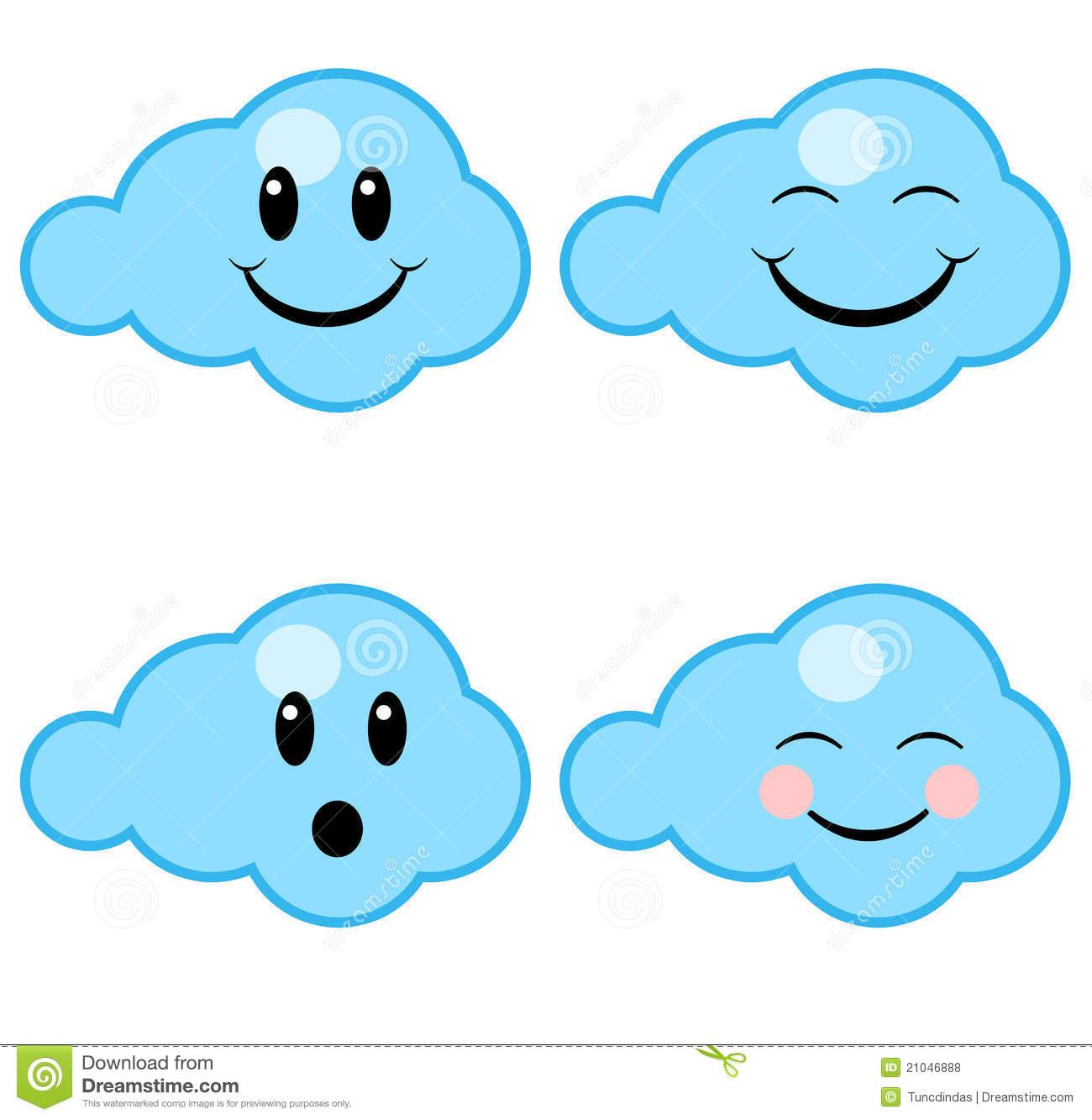 Happy Cloud Clipart - Clipart Suggest