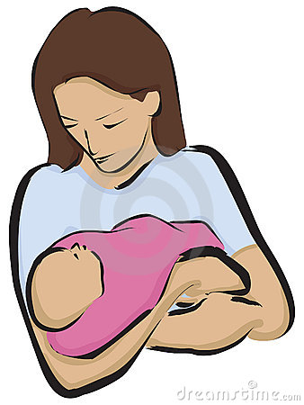 Mother With Newborn Stock Photo   Image  5862320