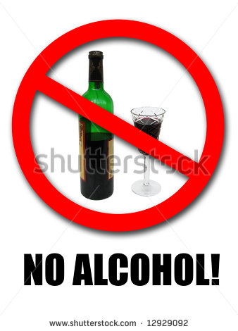 No Alcohol Sign  Stock Photo 12929092   Shutterstock