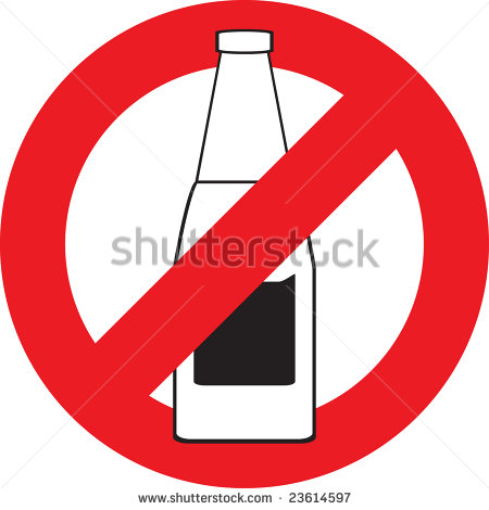 Say No To Alcohol Clip Art Http   Www Shutterstock Com Pic 23614597