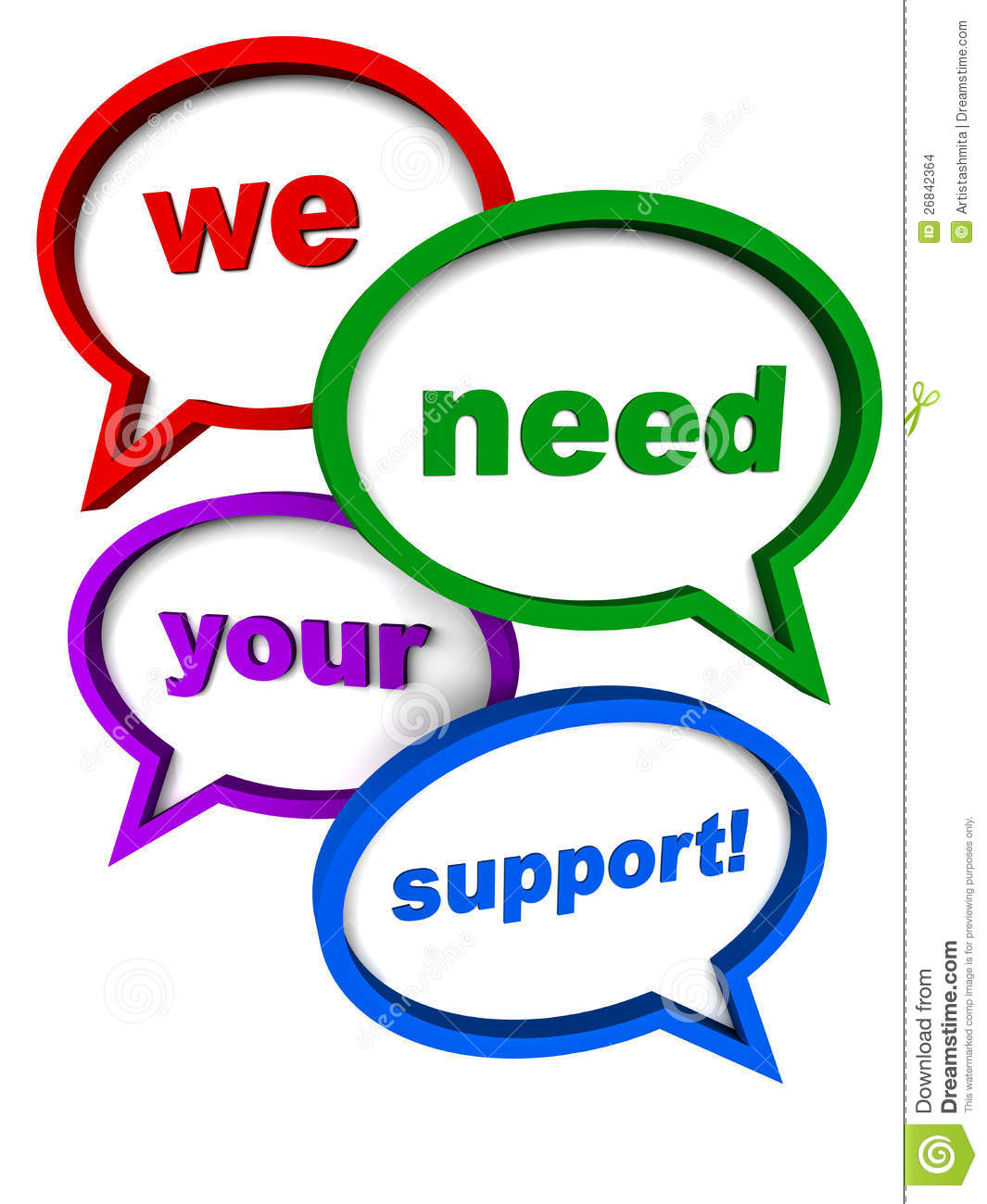 Seeking Support From Clients Users Or The Public For A Cause Of