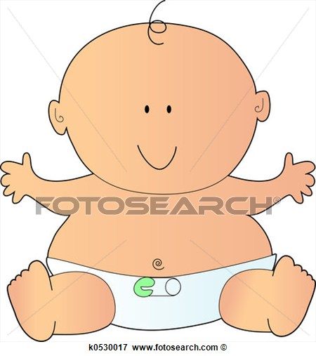 Stock Illustration   Newborn Baby  Fotosearch   Search Eps Clipart