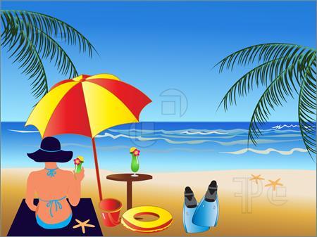 Summer Scene Clipart Clipart Suggest