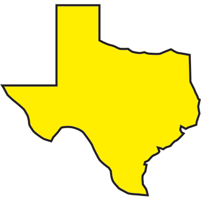 Texas Outline Clipart   Free Clip Art Images
