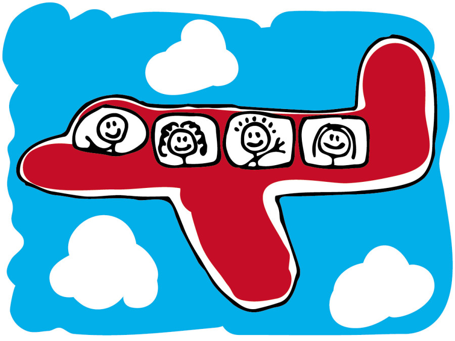 Clip Art Airline Carry-on Clipart - Clipart Kid