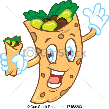 Burrito Clipart Can Stock Photo Csp17458263 Jpg
