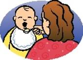 Feeding Baby Illustrations And Clipart  271 Feeding Baby Royalty Free