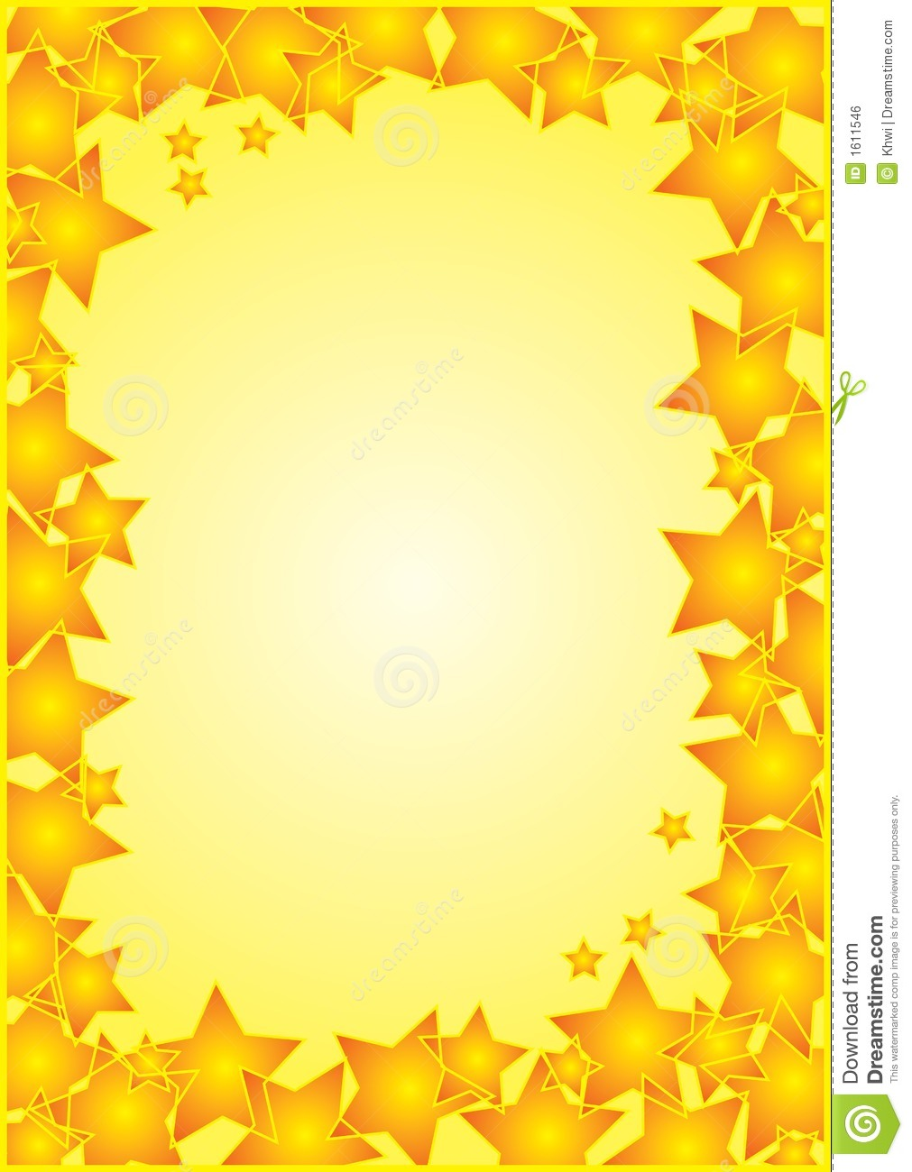 Free Star Border Clip Art Frame With Stars Border Royalty Free Stock
