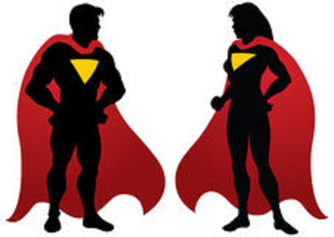 Superhero Silhouette Clipart - Clipart Suggest