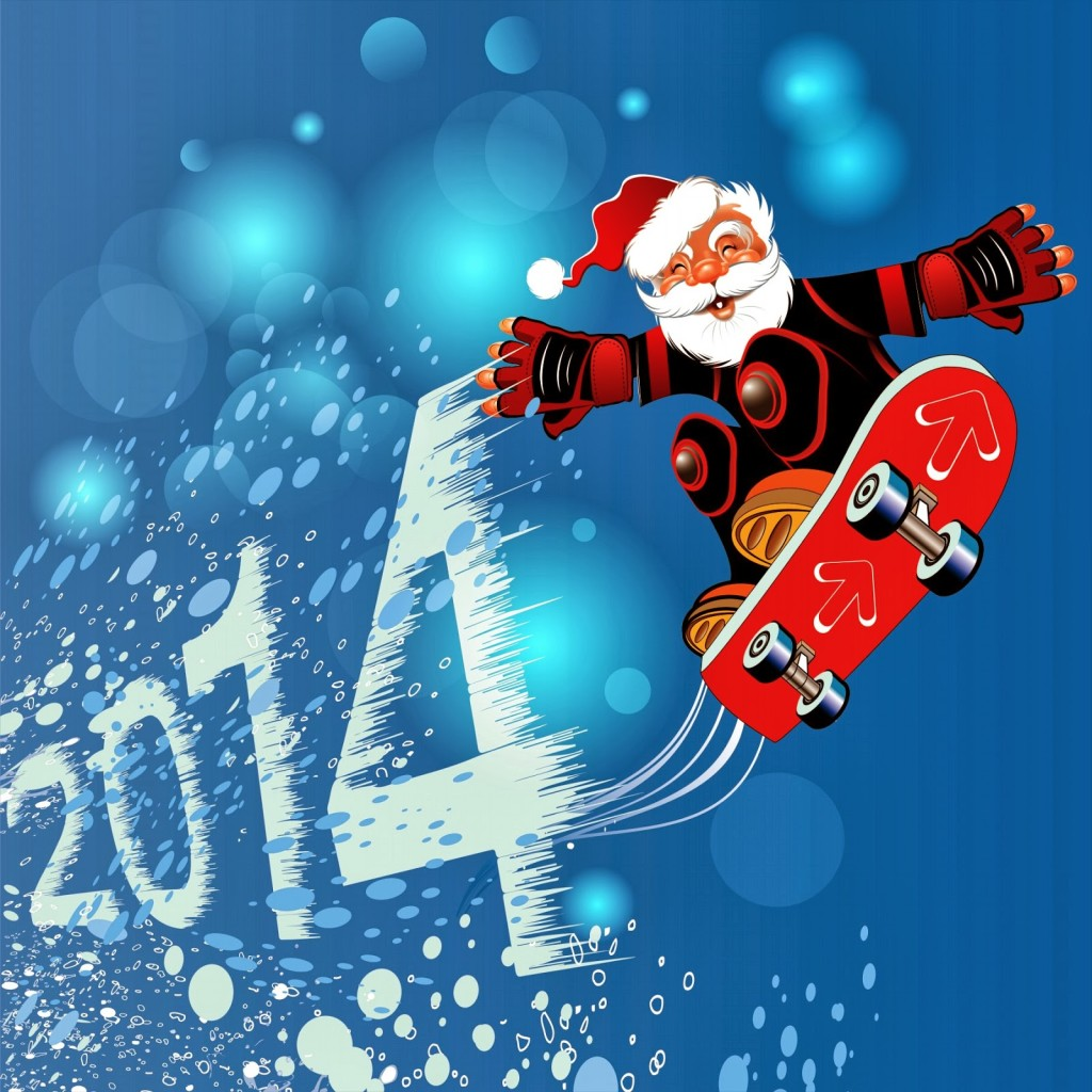 Happy New Year 2014 Clip Art   Happy Holidays 2014