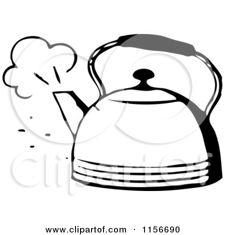 Kettle Clipart Black And White   Clipart Panda   Free Clipart Images