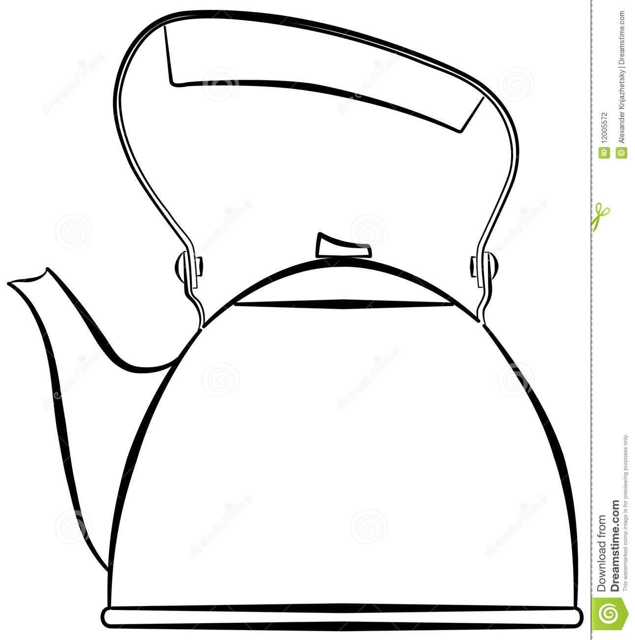 Kettle Stock Photography   Image  12005572