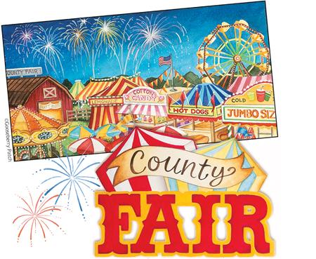Old County Fair Clip Art