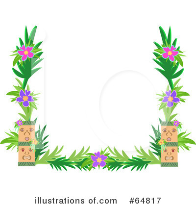 Tiki Clipart  64817 By Bpearth   Royalty Free  Rf  Stock Illustrations