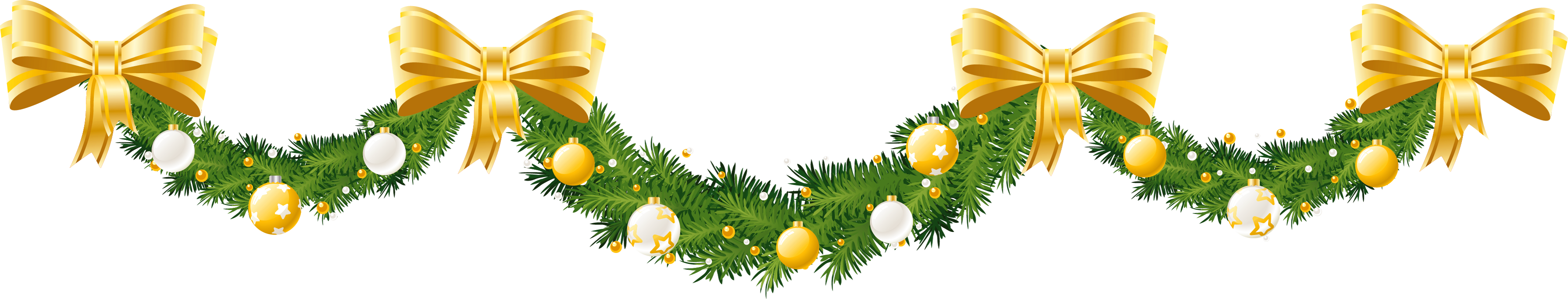 10 Christmas Garland Clip Art Free Cliparts That You Can Download To