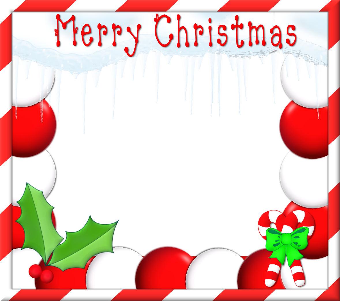 Christmas borders and frames clipart clipart kid