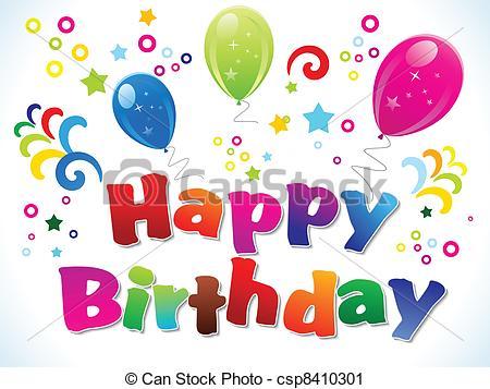 Happy 55th Birthday Clipart - Clipart Kid