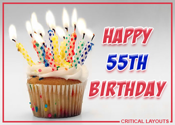 55th Birthday Images At Birthday Graphics Com
