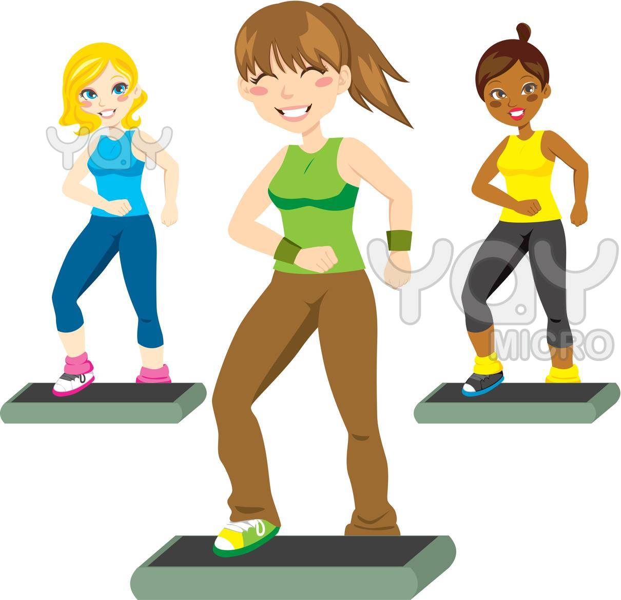 Dance Exercise Clipart - Clipart Kid