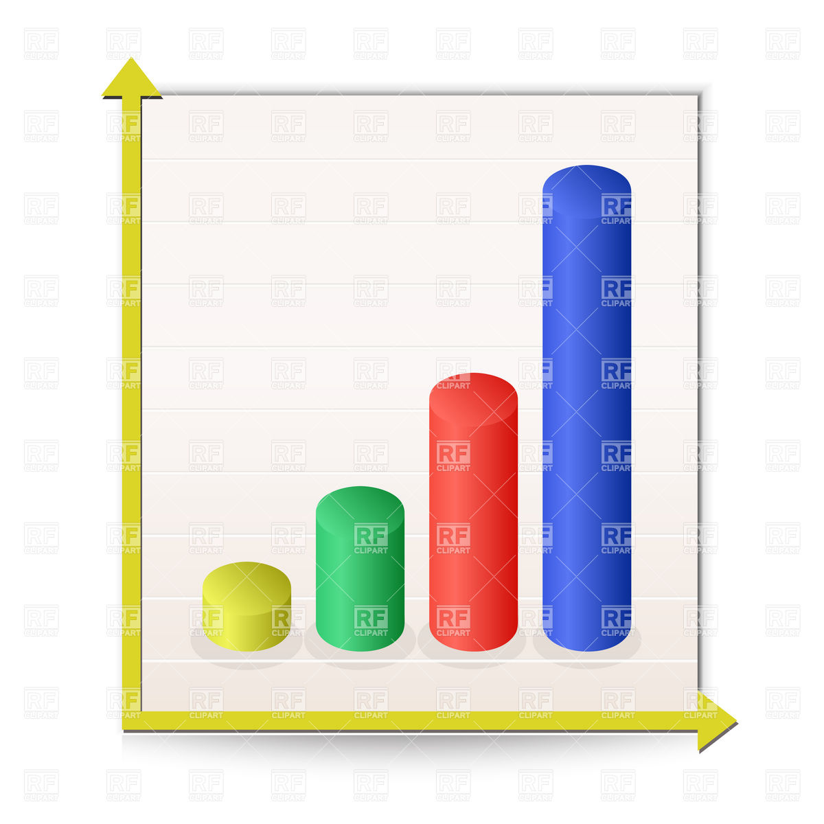 Bar Chart Report Icon Download Royalty Free Vector Clipart  Eps