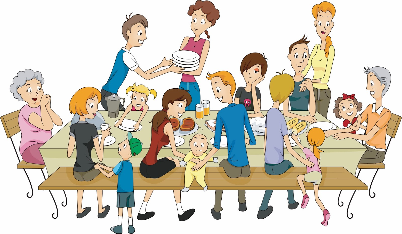 Family Praying Together Clipart And Talks And Prayers And