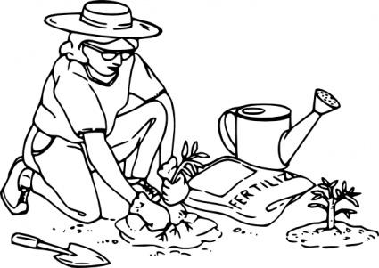 Fertilizer Clip Art Gardening