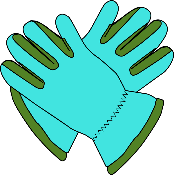 Gloves Clipart Gloves   Vector Clip Art