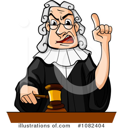 Judge Clipart  1082404 By Seamartini Graphics Media   Royalty Free  Rf
