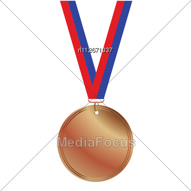 Medals Gold Silver Bronze And Steel Royalty Free Stock Vector Art
