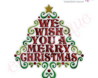 Merry Christmas Word Art We Wish You A Merry Christmas Word Tree