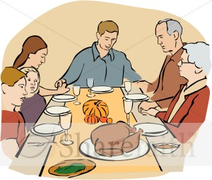 Praying Family Clipart