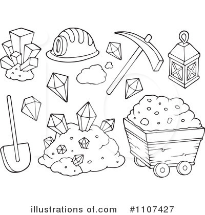 Royalty Free  Rf  Mining Clipart Illustration By Visekart   Stock