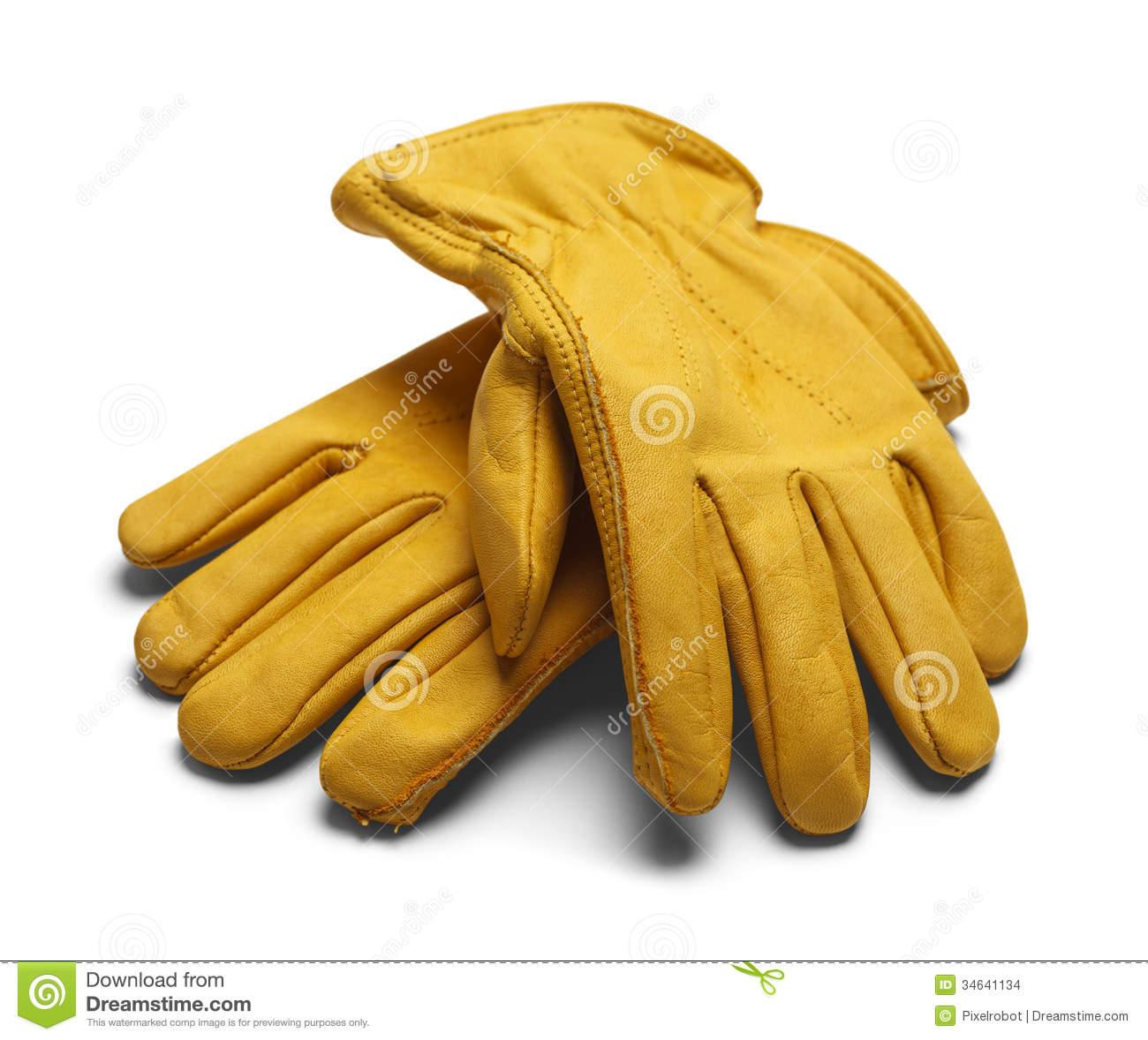 Work Gloves Clipart Leather Work Gloves
