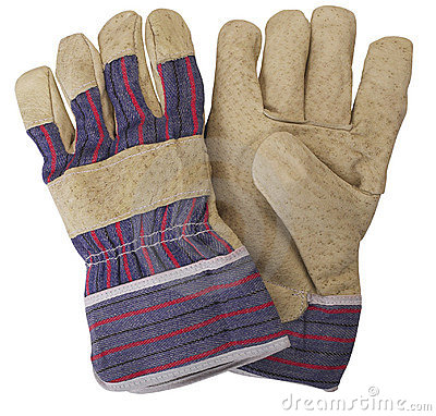 Work Gloves Clipart Pair Working Gloves 3436173 Jpg