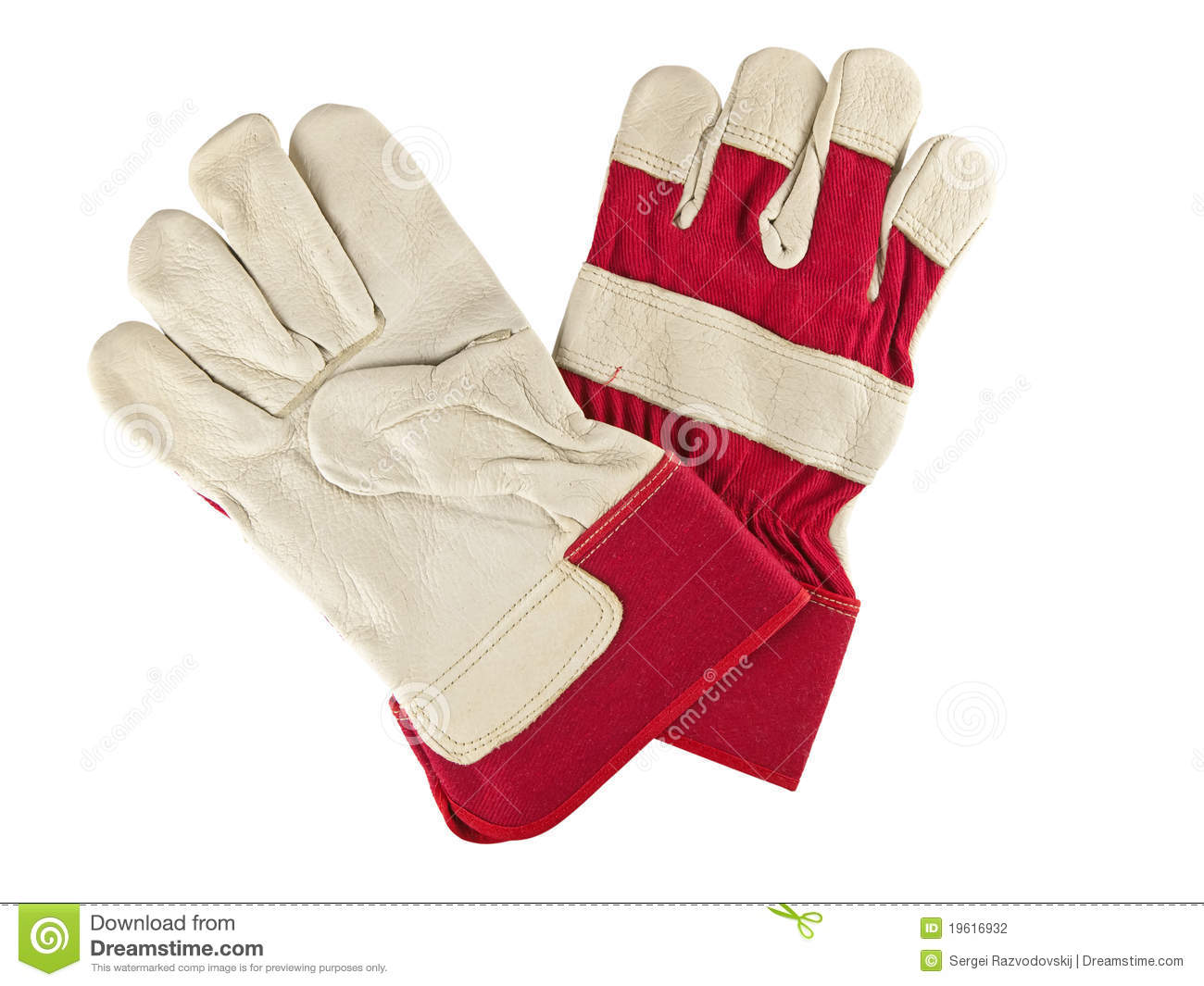 Work Gloves Stock Photography   Image  19616932