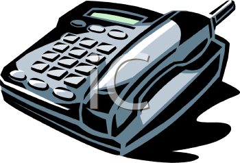 0511 0810 1902 1005 Office Phone Clipart Image Jpg