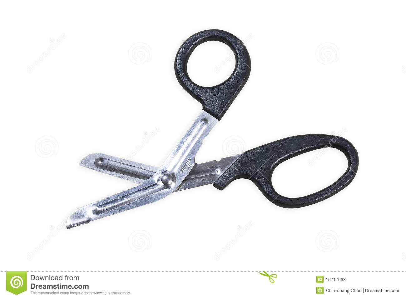 Bandage Scissors Royalty Free Stock Photos   Image  15717068