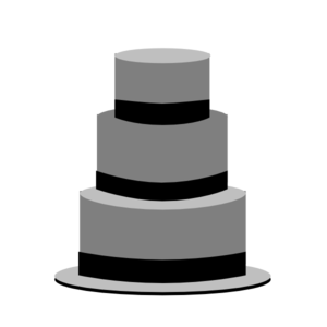 Cake Black And White Clipart Clipart Suggest