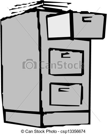 Cabinet   Stock Illustration Royalty Free Illustrations Stock Clip